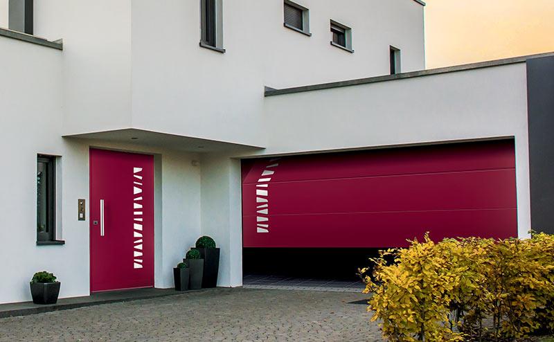 Porte de garage Fichet securité à Pontoise