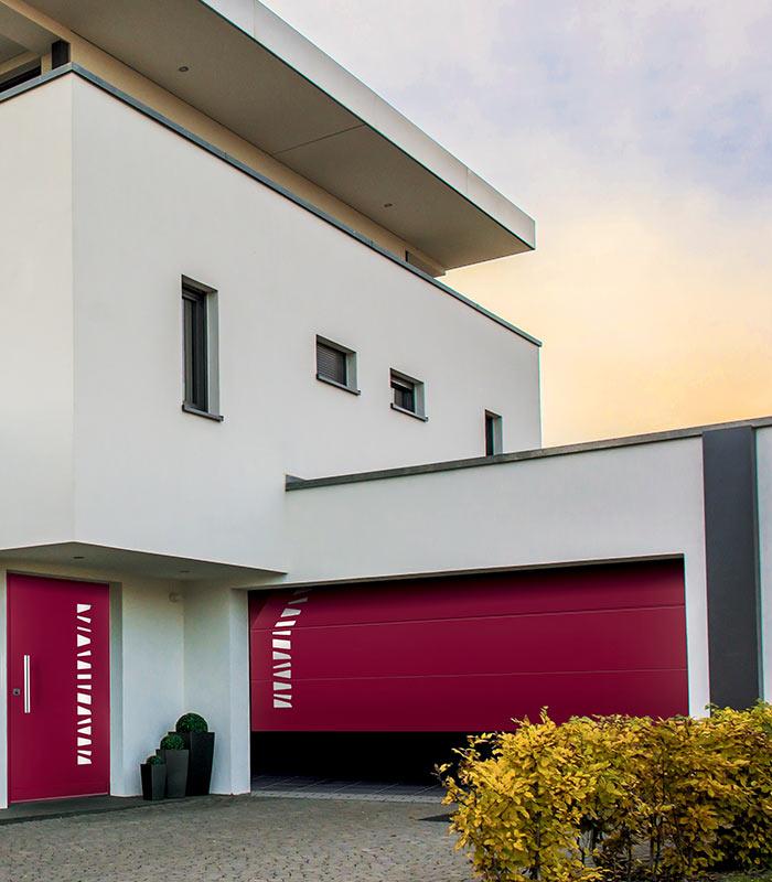 Porte de garage Fichet Pontoise