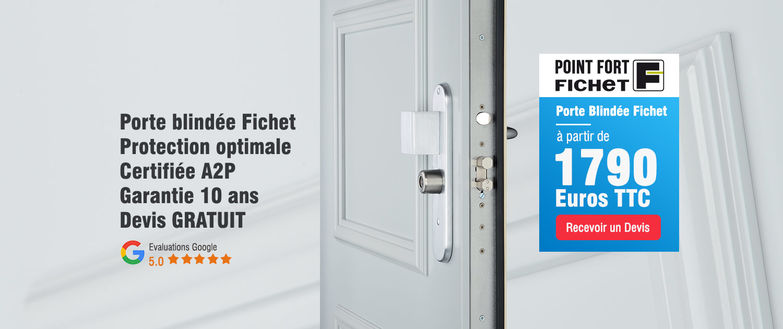 Promotion Porte blindée Fichet Pontoise